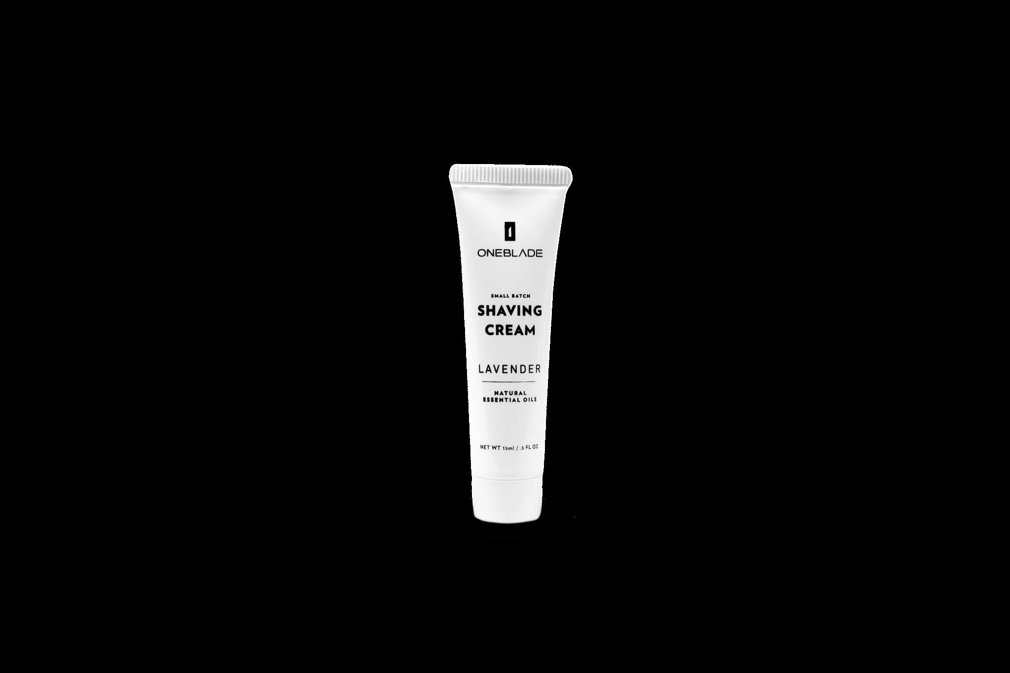 OneBlade shaving cream (travel size)