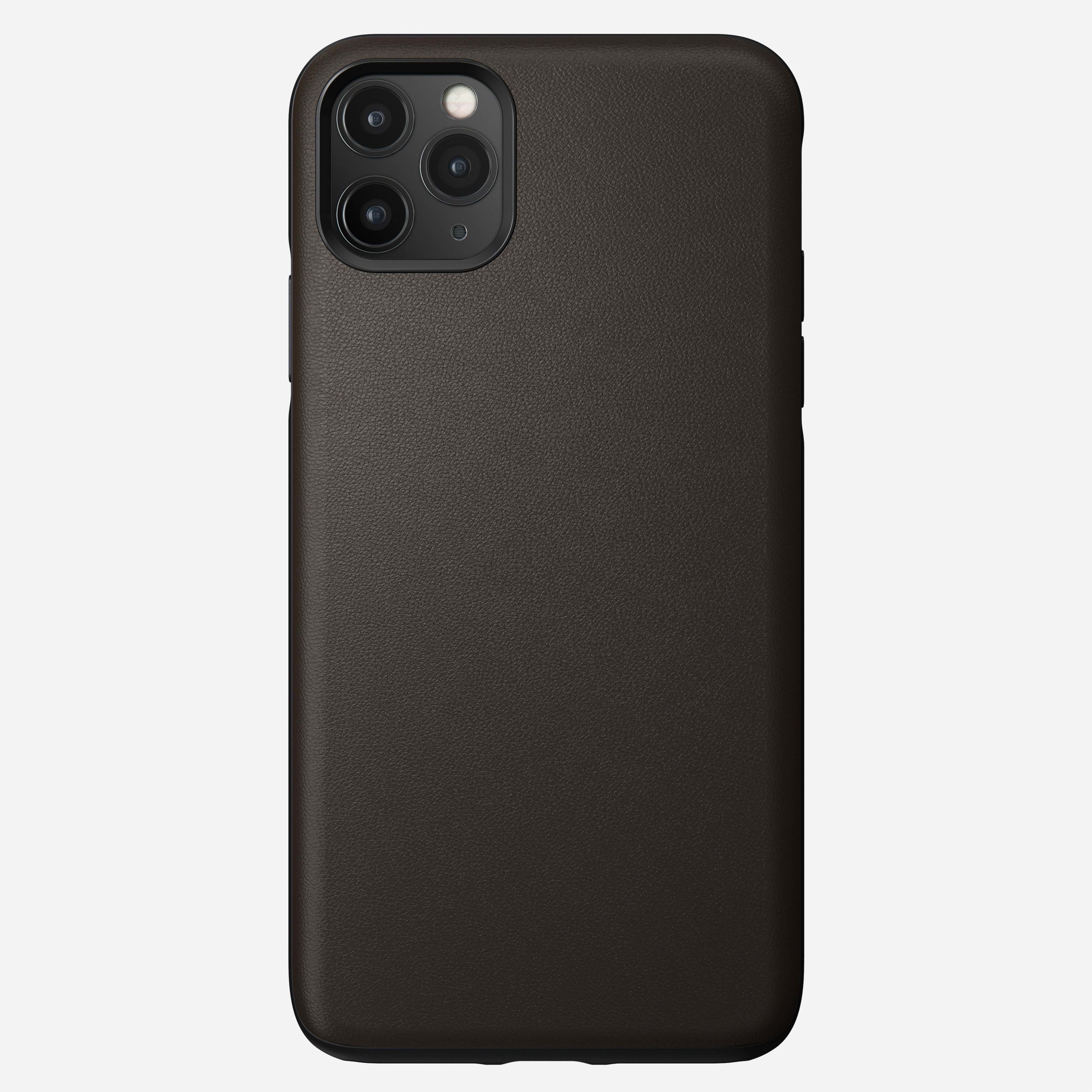 Active Rugged Leather Case for iPhone 11 Pro Max, Brown