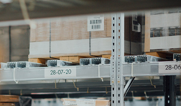 Computer shipping warehouse