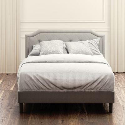 Kellen Upholstered Platform Bed Frame, Upholstered Platform Queen Bed Frame