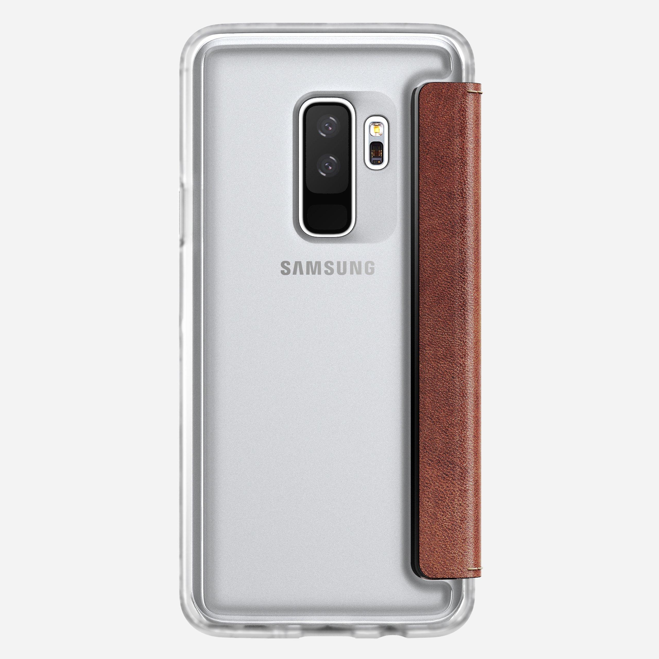 Clear Folio Case for Samsung S9 Plus