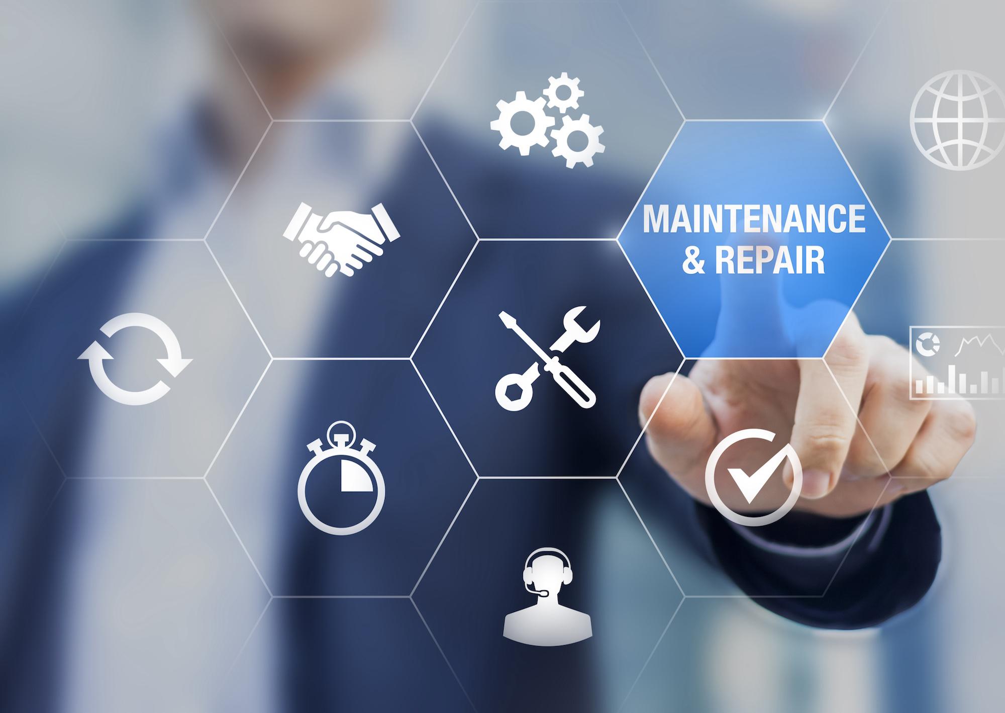 Maintenance and repair chart