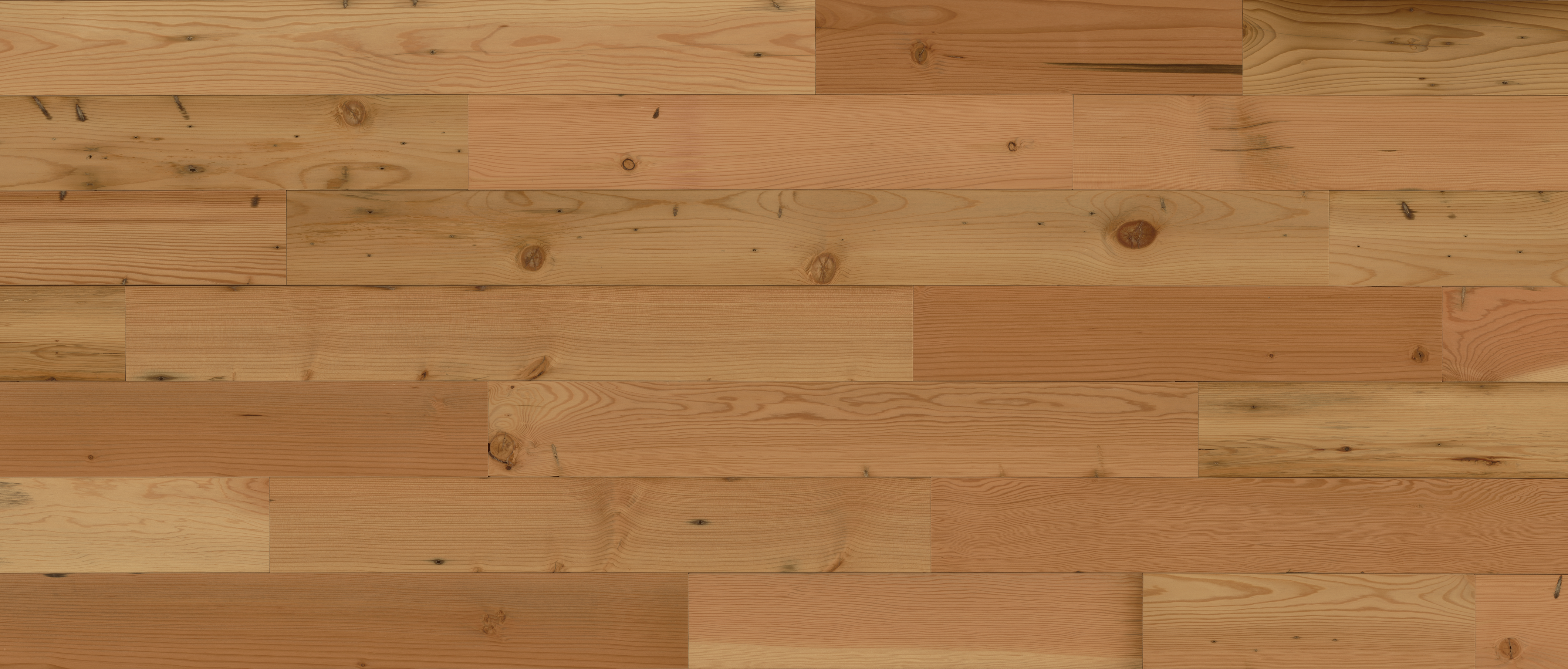 Stikwood Reclaimed Natural material explorer | real reclaimed douglas for peel and stick wood wall and ceiling planks with gold, yellow, tan and brown colors.