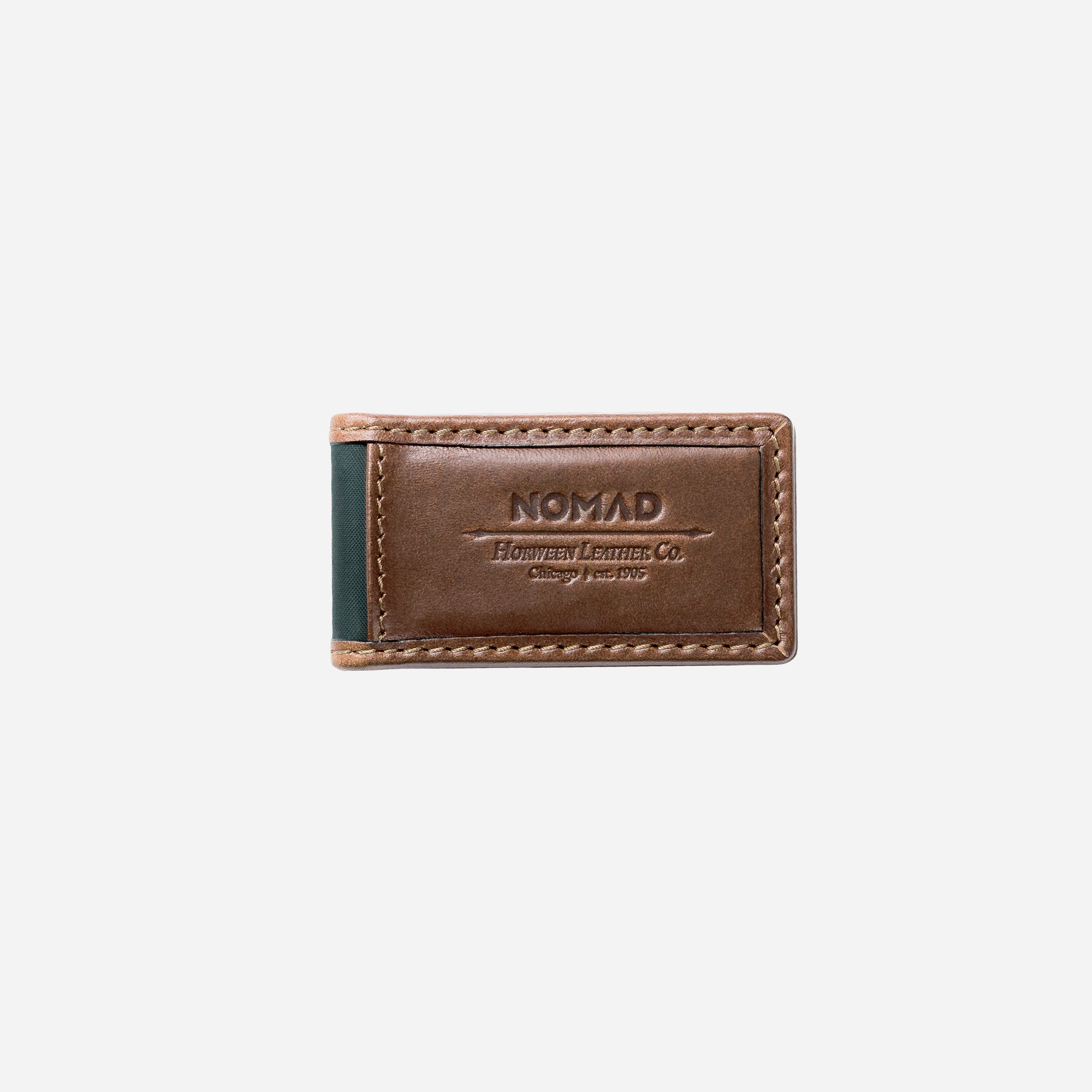 Leather Money Clip Front