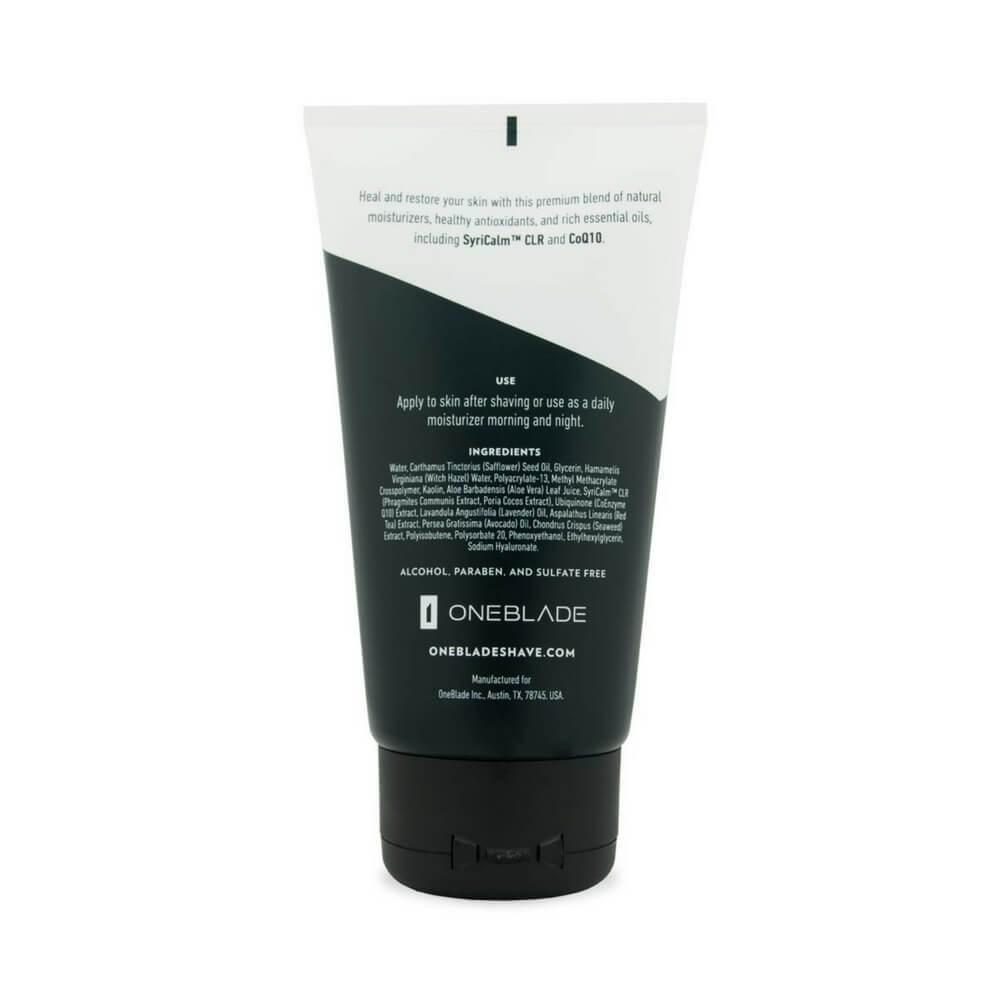 OneBlade Black Tie Skincare Set - Aftershave (back)