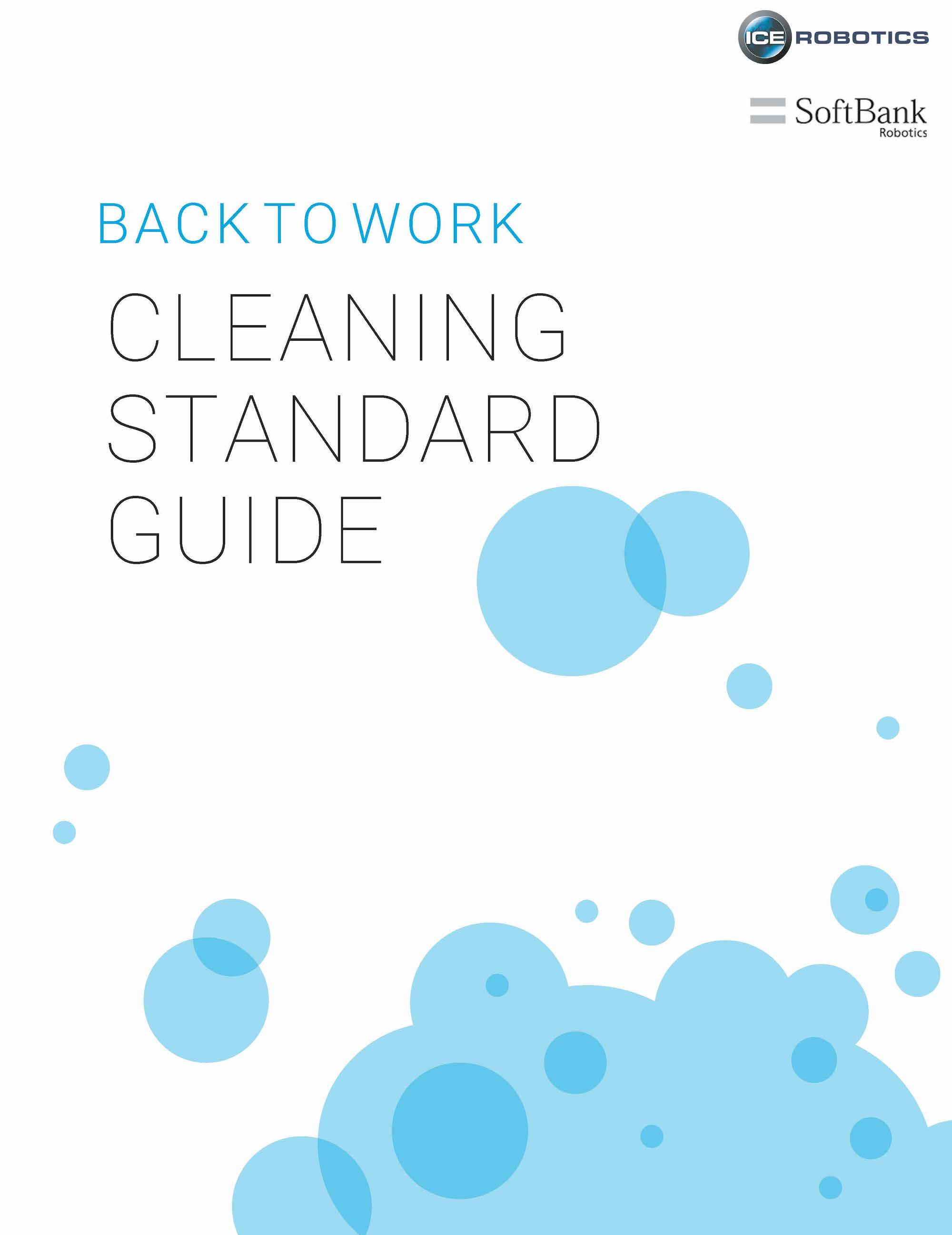 Back to Work Cleaning Guide Cover Page