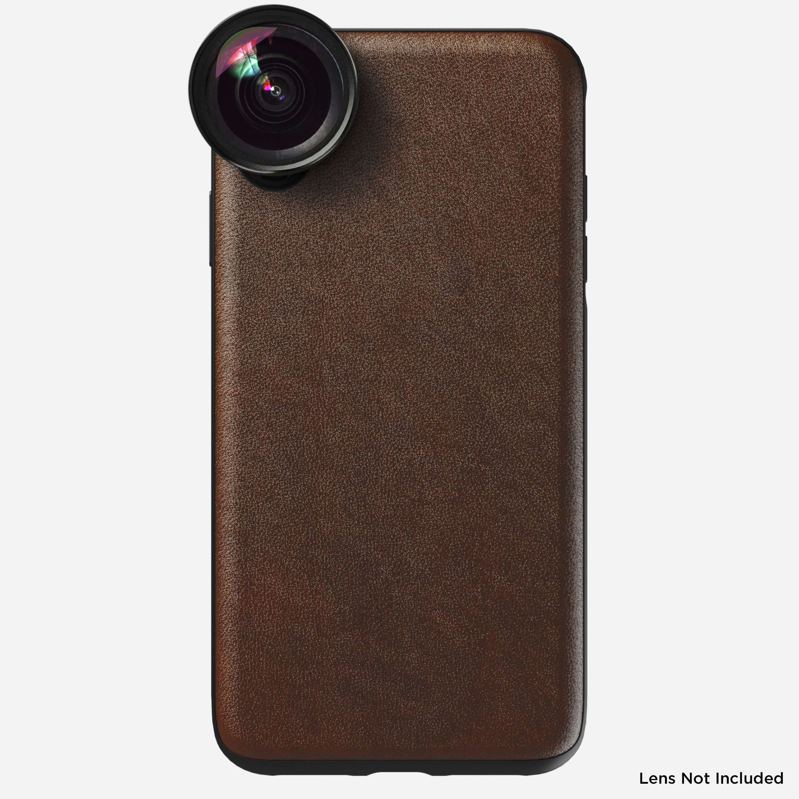 Rugged Leather Moment Case for iPhone Xs Max, Brown