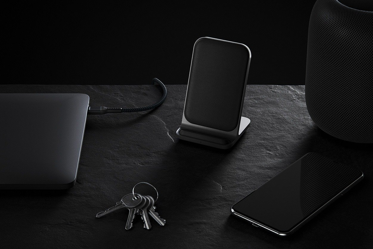 Base Station Stand Wireless Charger Nomad