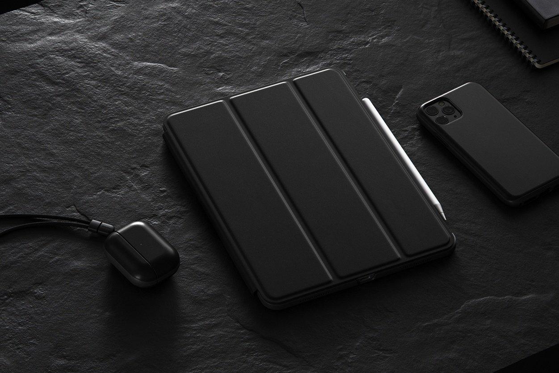 Rugged Leather Folio for iPad Pro 11-inch, Black   NOMAD®