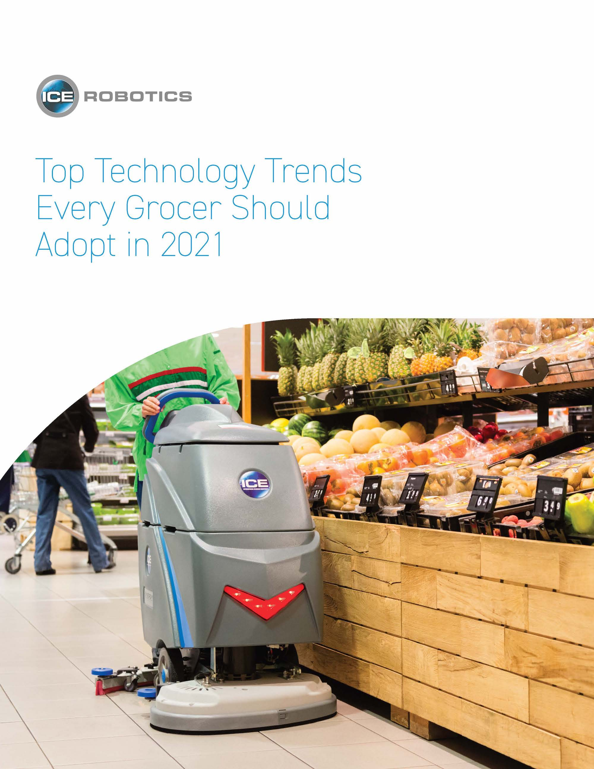 2021 Grocery Trends Guide Cover Page