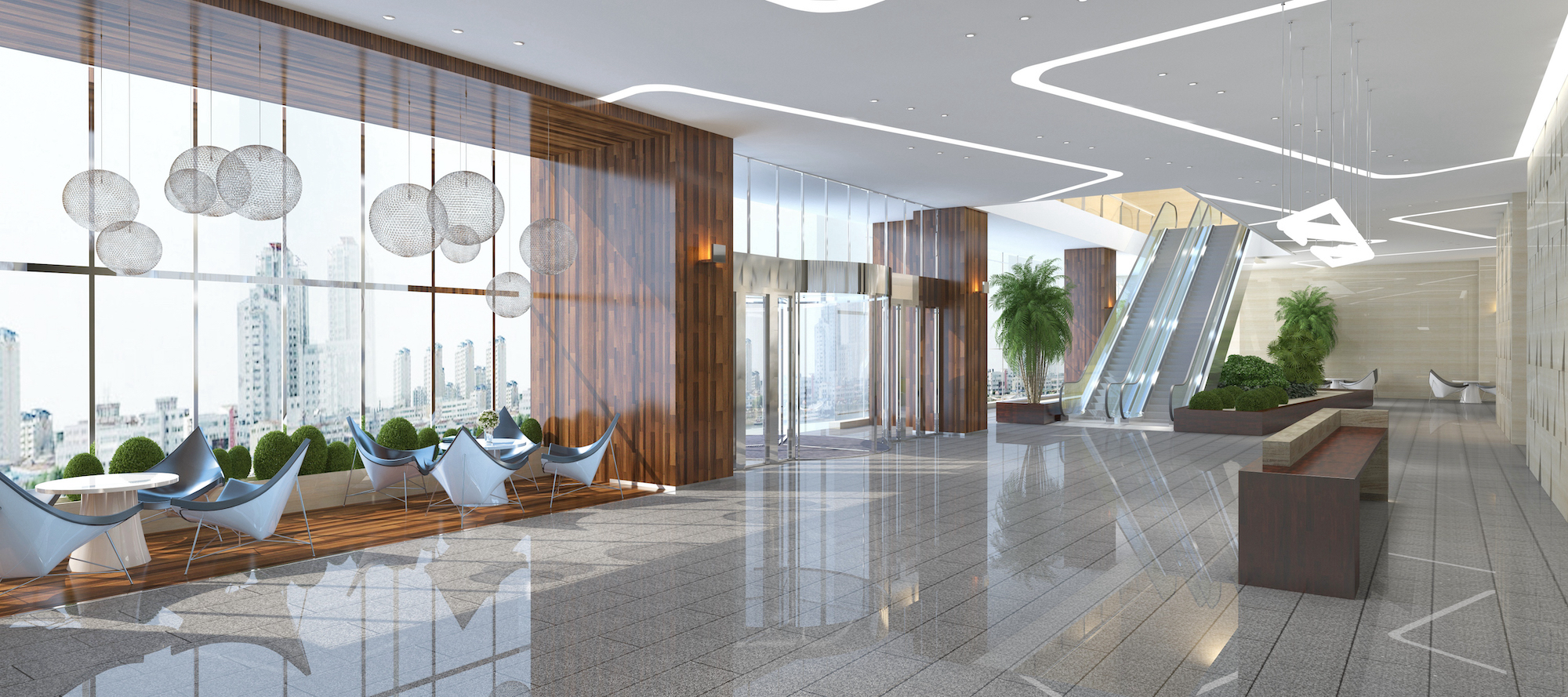 Business lobby