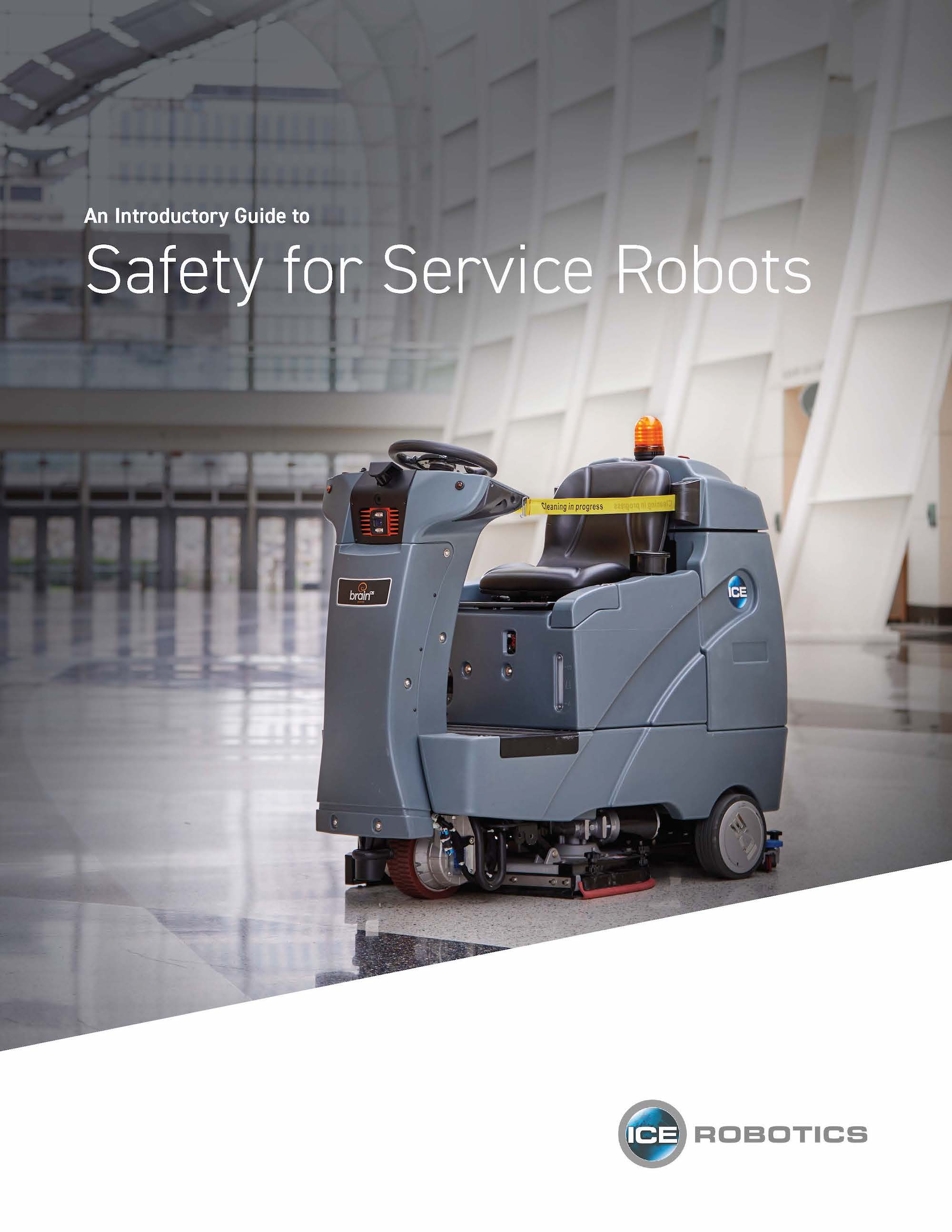 Guide to Safety for Service Robots Cover Page