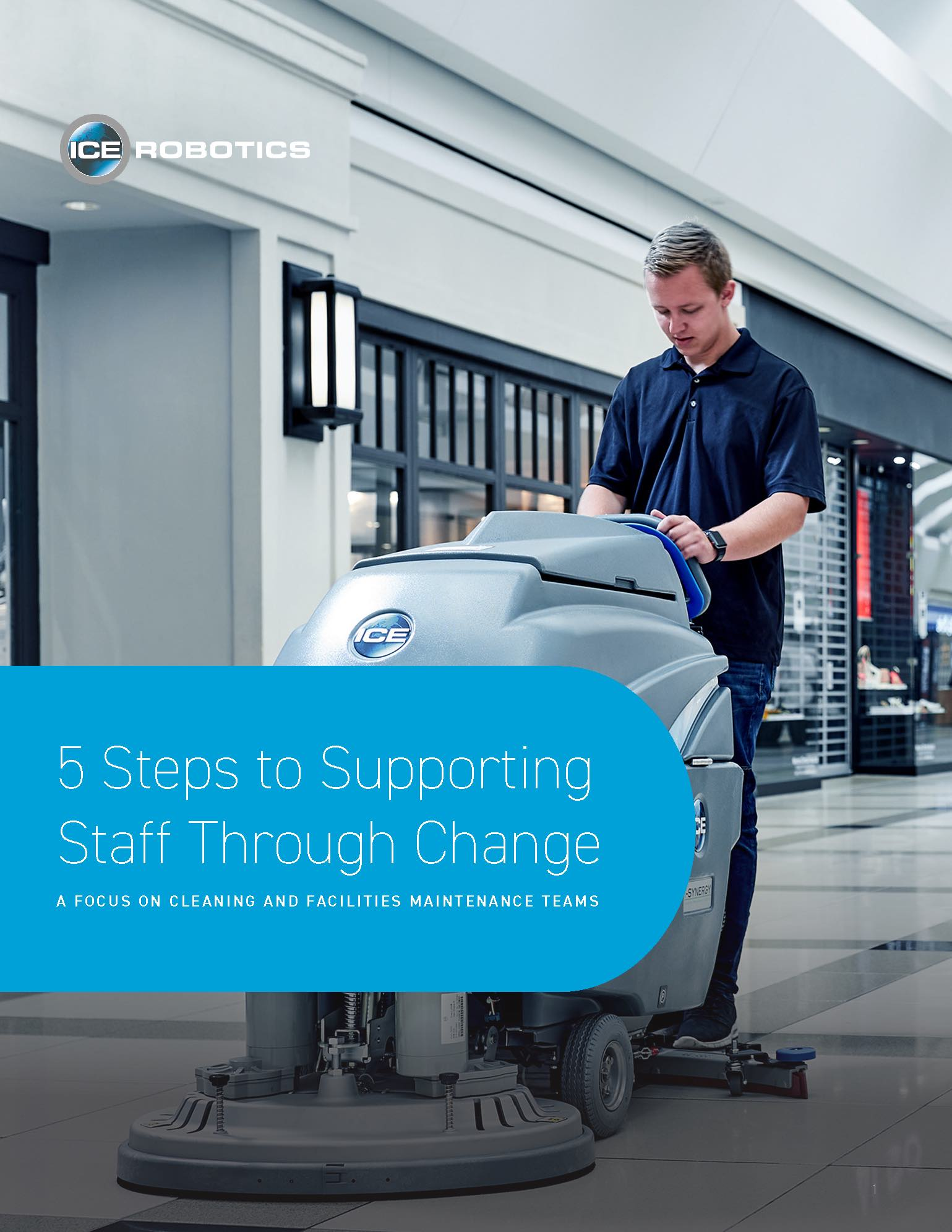 5 Steps to Supporting Staff White Paper Cover Page