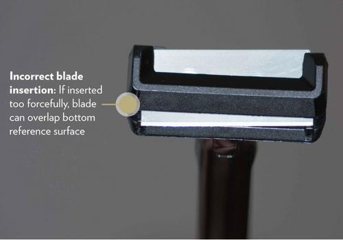 Incorrect Blade Insertion