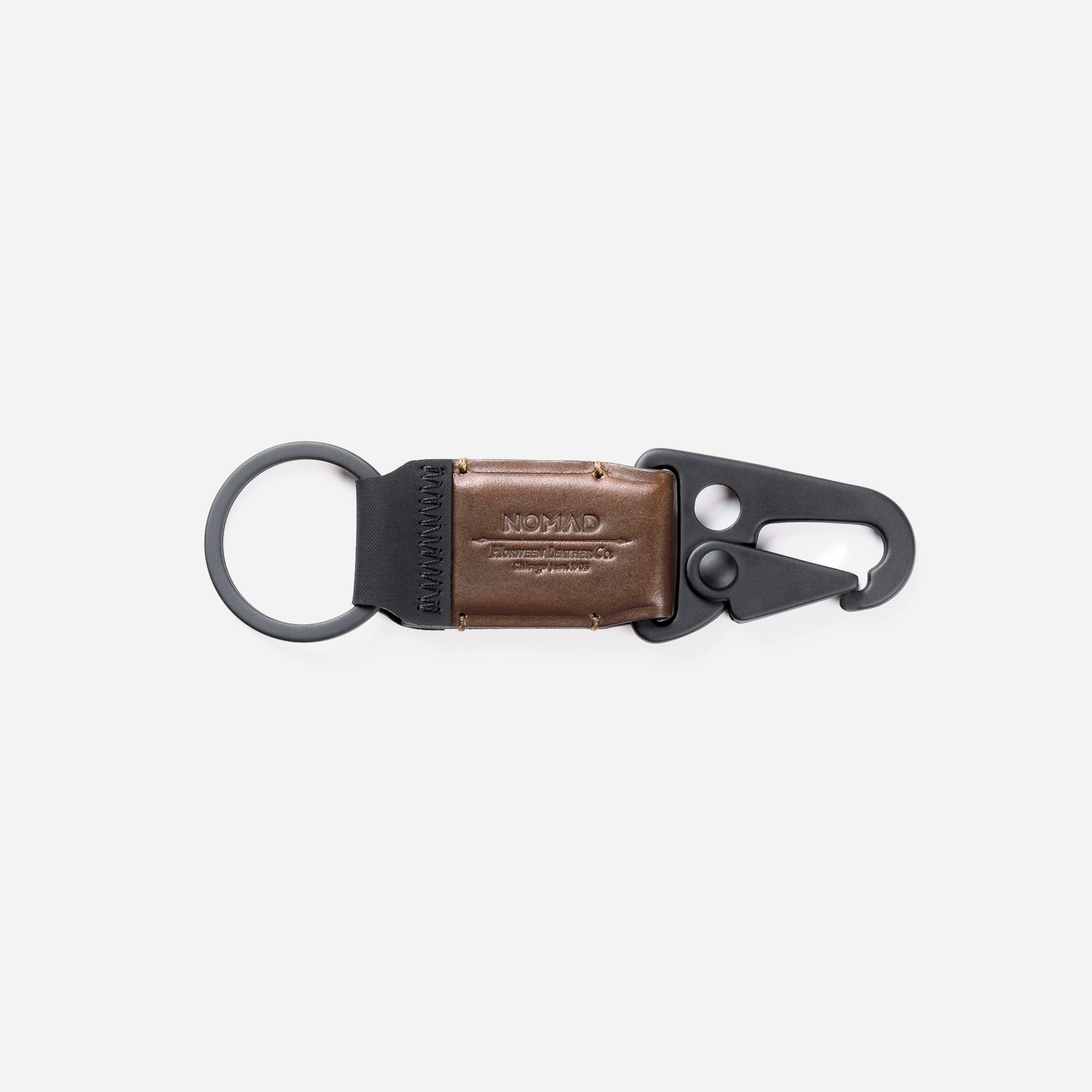 Leather Keychain Clip