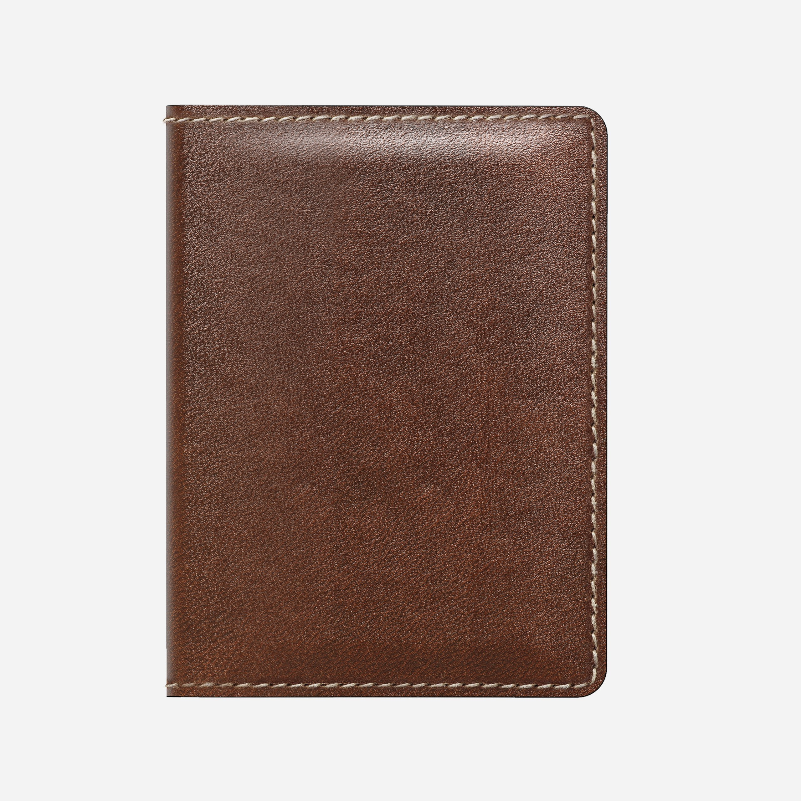 Slim Wallet with Tile Tracking, Brown